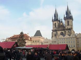 Czech Republic モルダウと聖ミクラーシュ教会_e0195766_235501.jpg