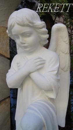 天使のガーデンオブジェ~_f0029571_8245690.jpg