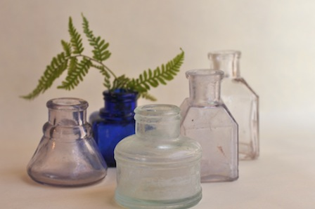 『アンティーク瓶 & ジュエリー展』@銀座 _d0154102_19112412.jpg