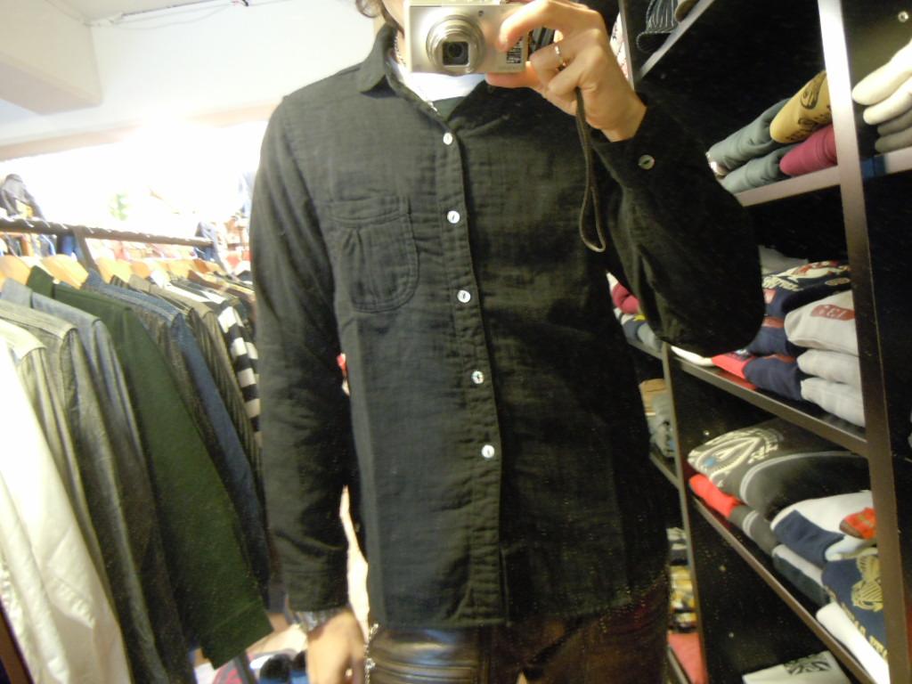 DAPPER\'S  Wガーゼ ショールカラーシャツ_b0278148_1315376.jpg