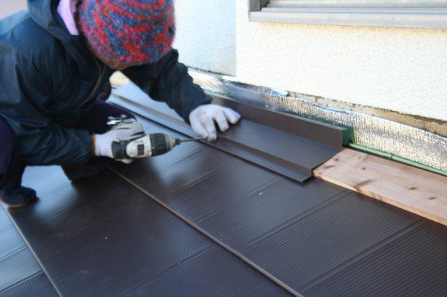 屋根の葺き替えが完了しました(多摩市)_e0207151_1147228.jpg
