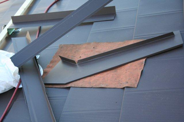 屋根の葺き替えが完了しました(多摩市)_e0207151_11531079.jpg