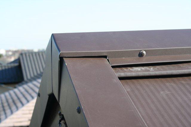 屋根の葺き替えが完了しました(多摩市)_e0207151_11534151.jpg