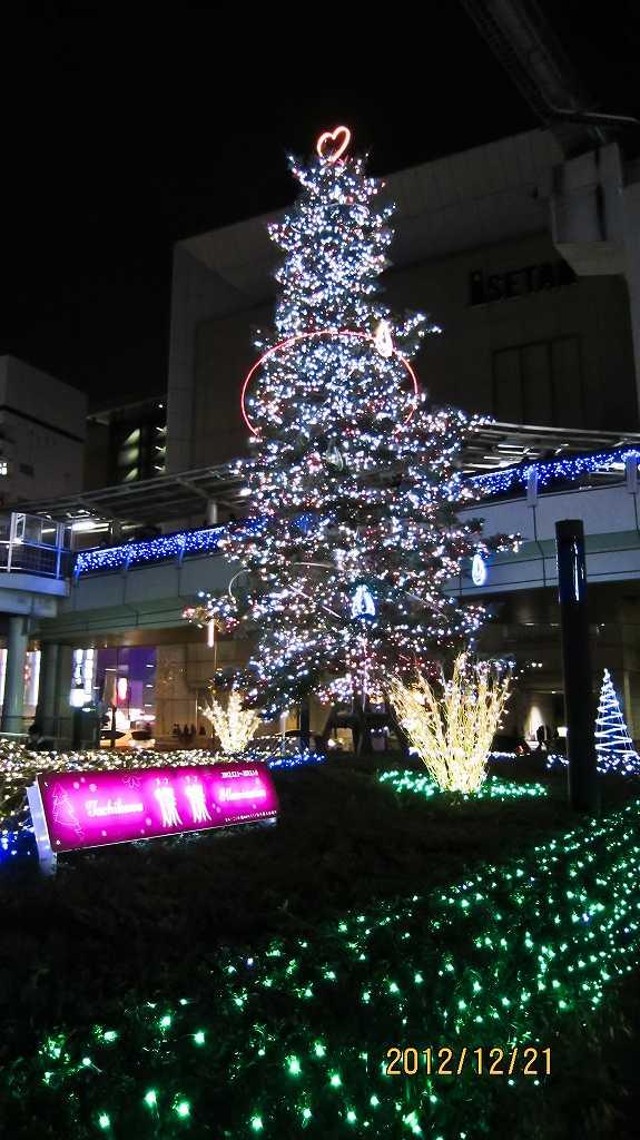 昭和記念公園のイルミ2_f0044056_8324999.jpg