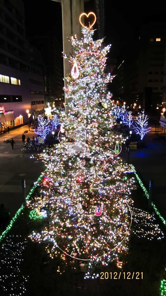 昭和記念公園のイルミ2_f0044056_833143.jpg