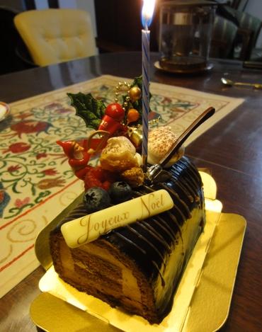 今年のクリスマス・ケーキも_f0178060_2226766.jpg
