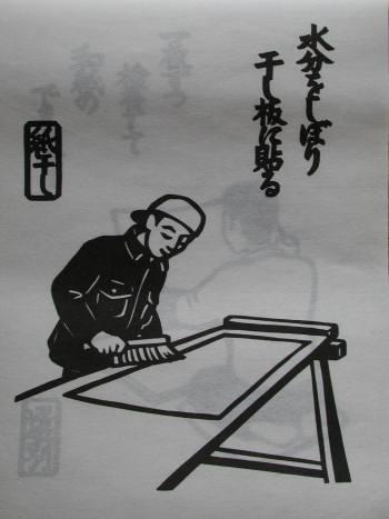2013年 『杉原紙カレンダー 和紙をつくる』_e0200879_1185067.jpg