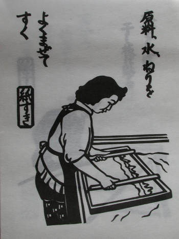 2013年 『杉原紙カレンダー 和紙をつくる』_e0200879_119052.jpg