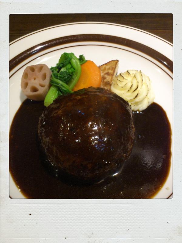 オニオングラタンスープでほっこり@洋食おかだ_b0065587_15434580.jpg