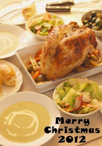 2012年、クリスマスディナー_b0253205_4392369.jpg