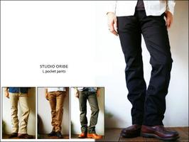 STUDIO ORIBE [スタジオオリベ] MEN\'S  2013年春の入荷です♪_f0051306_20472288.jpg