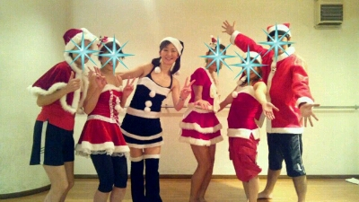 クリスマス仮装レッスン♪_b0189509_1542268.jpg