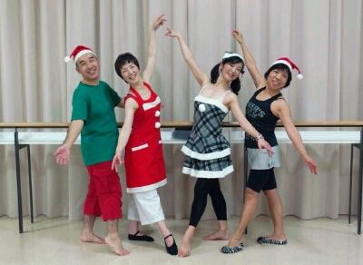 クリスマス仮装レッスン♪_b0189509_15424241.jpg