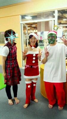 クリスマス仮装レッスン♪_b0189509_15455598.jpg