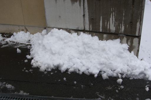 雪かきで_e0226943_23564019.jpg