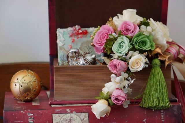 薔薇の飾り_a0257652_1554146.jpg