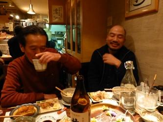 福岡市中央区清川の「遊亀」で、今年2回目の忘年会!_e0188087_146124.jpg
