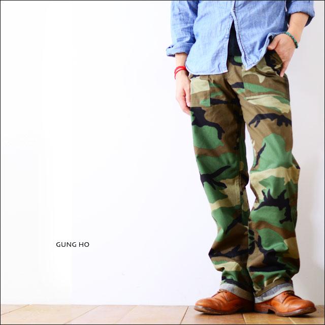 GUNG HO [ガンホー] FATIGUE PANTS [ファティーグパンツ] BAKER PANTS/ベーカーパンツ MADE IN USA MEN\'S_f0051306_15475662.jpg
