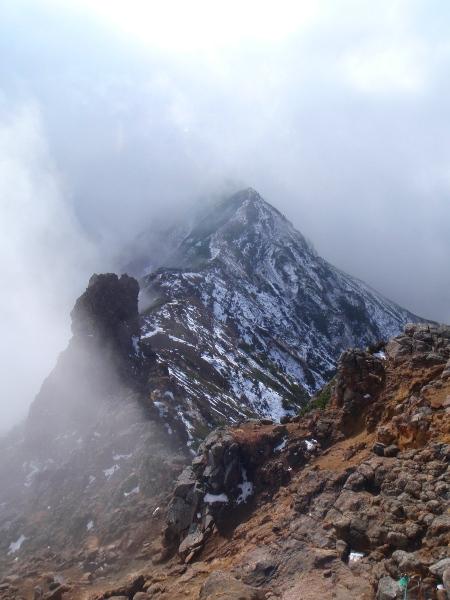 杣添尾根から赤岳へ②_c0177814_23202870.jpg