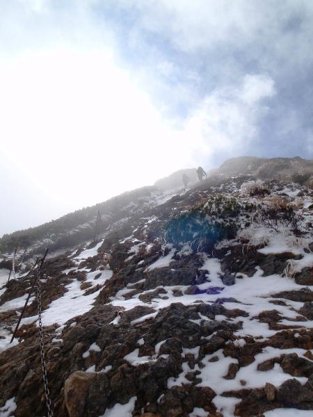 杣添尾根から赤岳へ②_c0177814_23265935.jpg