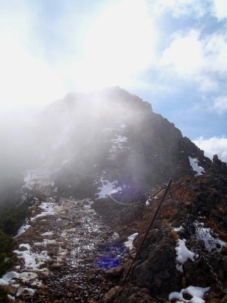 杣添尾根から赤岳へ②_c0177814_23271928.jpg