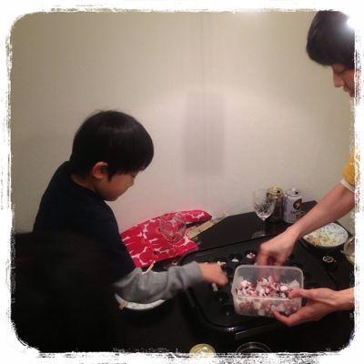 タコパでお祝い&メリークリスマス!_e0258469_623688.jpg