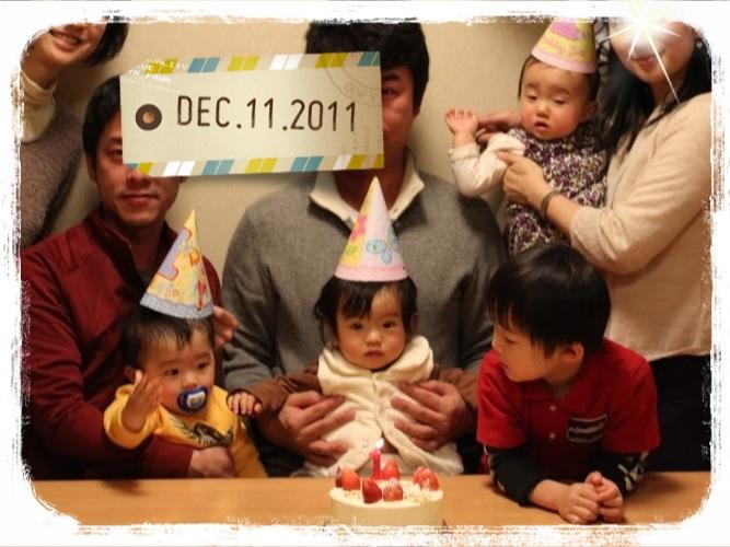 タコパでお祝い&メリークリスマス!_e0258469_726620.jpg