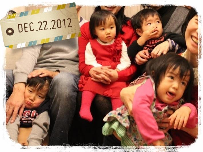 タコパでお祝い&メリークリスマス!_e0258469_72697.jpg