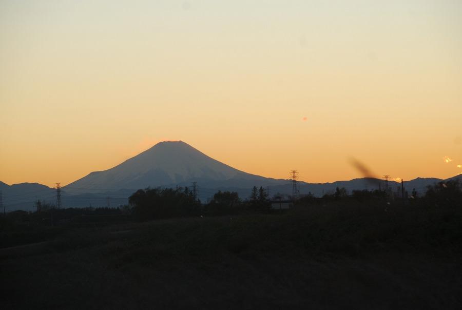 夕茜に富士山_c0187781_22143316.jpg