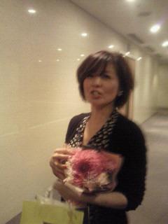 石野真子LIVE in 浜離宮朝日ホール_f0061797_1382513.jpg