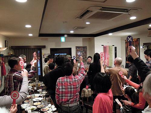 南澤先生を囲んでの「忘年会&ライブ」 2012_c0137404_13521781.jpg