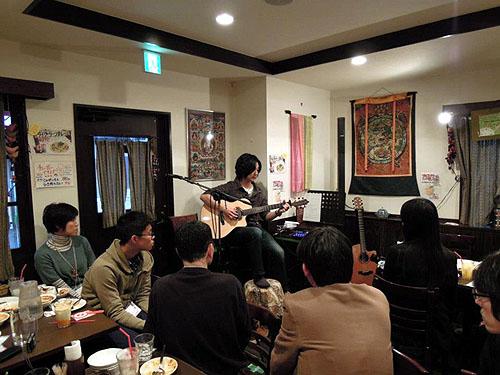 南澤先生を囲んでの「忘年会&ライブ」 2012_c0137404_13541918.jpg