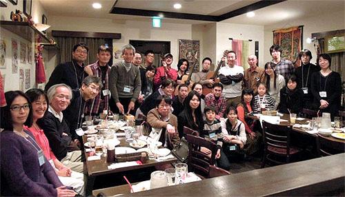 南澤先生を囲んでの「忘年会&ライブ」 2012_c0137404_1424199.jpg
