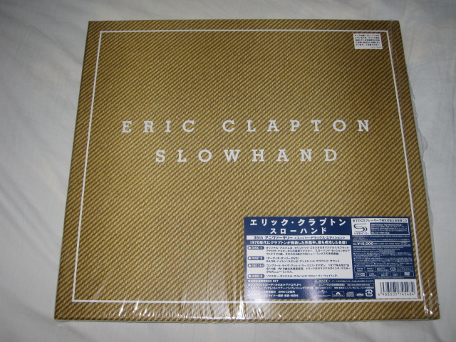 ERIC CLAPTON / SLOWHAND 35th ANNIVERSARY [SUPER DELUXE EDITION]_b0042308_1441793.jpg