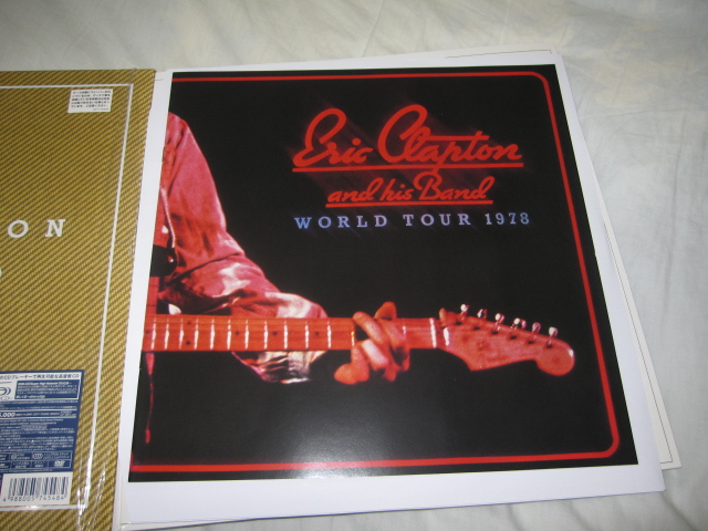 ERIC CLAPTON / SLOWHAND 35th ANNIVERSARY [SUPER DELUXE EDITION]_b0042308_14525879.jpg