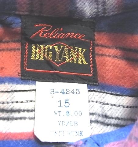 1月2日(水)入荷!デッドストック BIGYANK 山ポケ!ネルシャツ!_c0144020_13534736.jpg