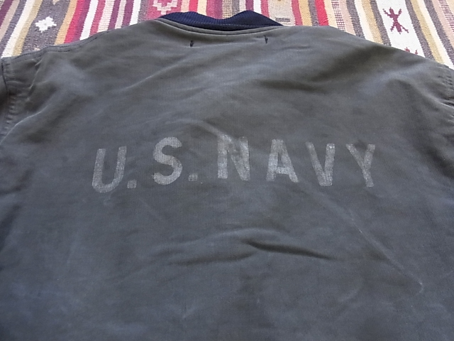 1月2日(水)入荷!WWⅡ 40'S U.S.NAVY フック デッキジャケット!_c0144020_1413536.jpg