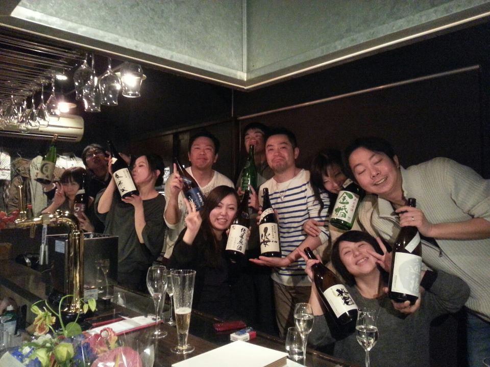 なりぴー酒店 「地酒ノ愉酒屋」 2012ファイナル熱血感謝祭 !!!_e0173738_1225735.jpg