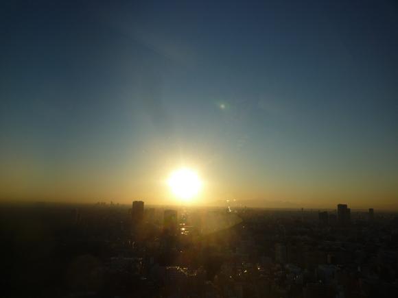 夕日を見つめた。_b0217741_0513791.jpg