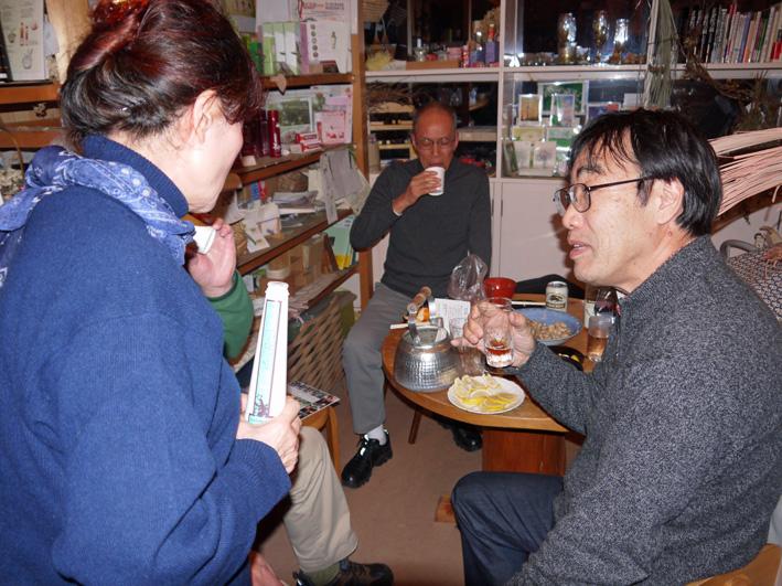12・18蕎麦がらみで忘年会を連チャン(繁茂&香り仕事)_c0014967_10243920.jpg
