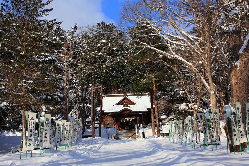 神札をいただきに義経神社へ _a0160581_8161992.jpg