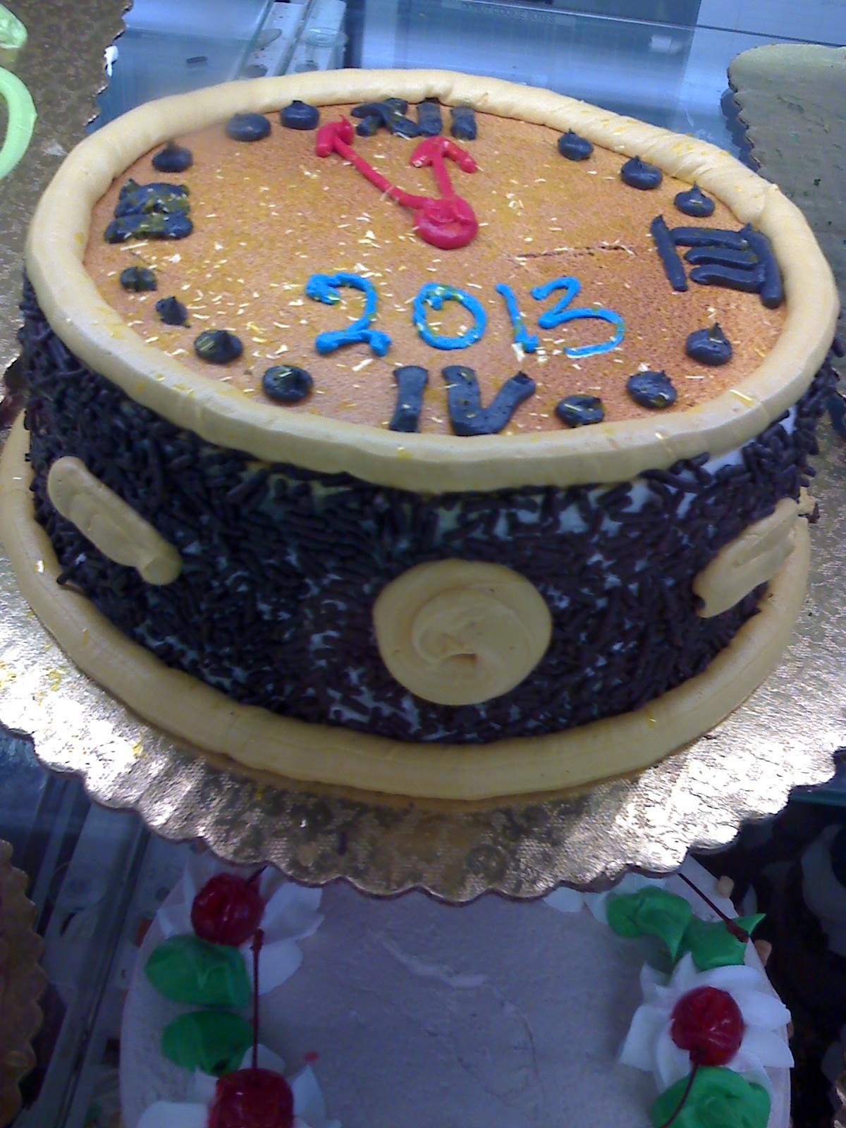 カウントダウンの毒々しいケーキ_d0240098_11143436.jpg