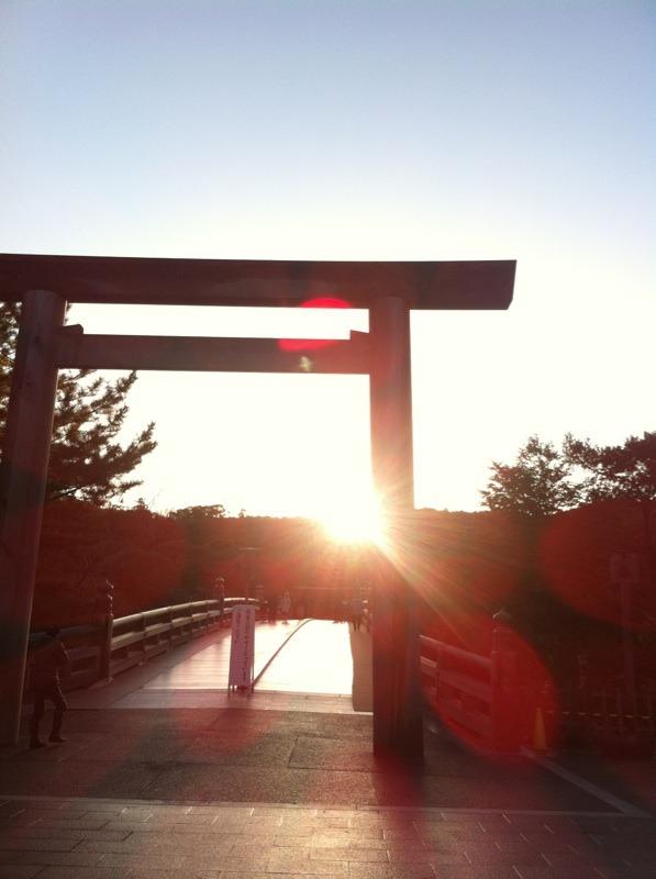 明けましておめでとうございます!  伊勢神宮参拝☆_f0141419_8334831.jpg