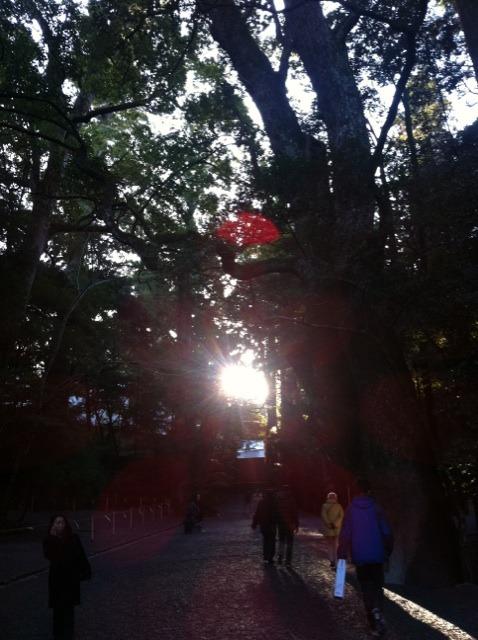 明けましておめでとうございます!  伊勢神宮参拝☆_f0141419_8385835.jpg