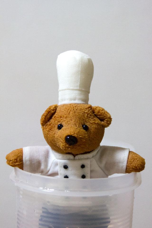 THE DINING ChefBear洗濯中_a0016730_16302182.jpg