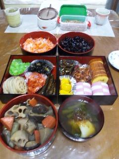 新春☆うちのおせち(^o^)v_a0272042_12461235.jpg