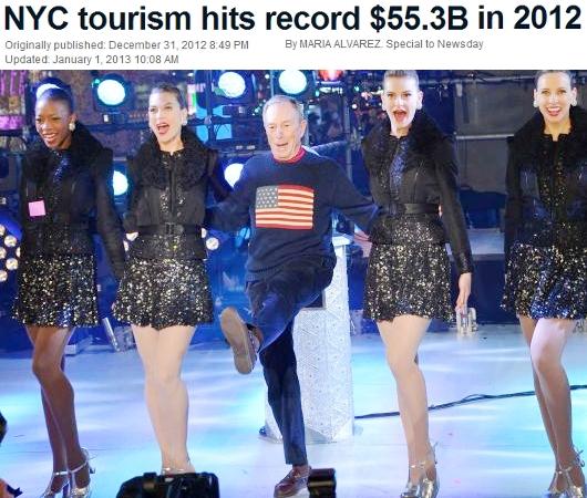 2012年、NYを訪れた観光客は史上最多の5,200万人、経済効果は553億ドル(=約5兆円)!!!_b0007805_1313537.jpg