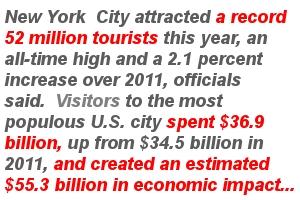 2012年、NYを訪れた観光客は史上最多の5,200万人、経済効果は553億ドル(=約5兆円)!!!_b0007805_13143781.jpg