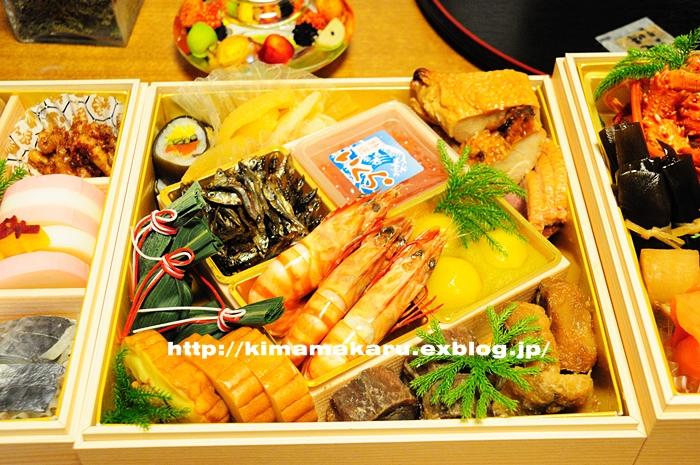 おせち料理と神社参詣_a0229217_11165665.jpg