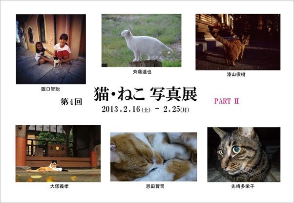 明日から 第4回 猫・ねこ写真展 始まります Art Gallery 山手 横浜 ピンホール写真_f0117059_1850998.jpg